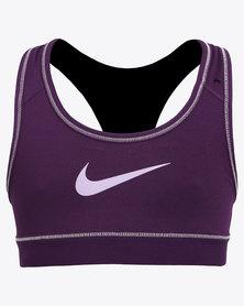 Nike Girls Home & Away Sports Bra Purple
