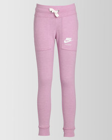 Nike Girls NSW Vintage Trackpants Orchid