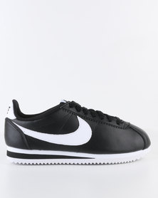 Nike Womens Classic Cortez Leather Black