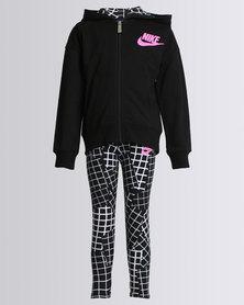 Nike NKG Futura French Terry Full Zip Set Black