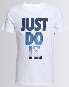 Nike Boys NSW JDI Light Tee White
