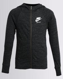 Nike Girls NSW VNTG Hoodie Black