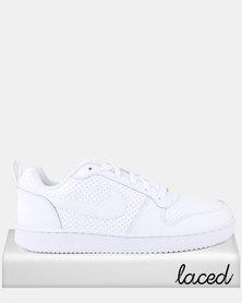 Nike Court Borough Low White