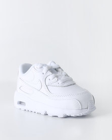 Nike Boys Air Max 90 Leather TD Sneaker White