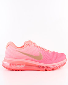Nike Girls Air Max 2017 GS Running Shoe Orange