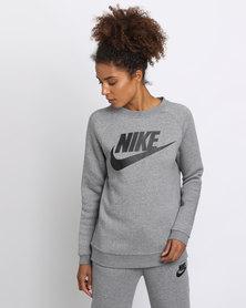 Nike Womens Nike Sportswear Rally Crew GX1 Grey