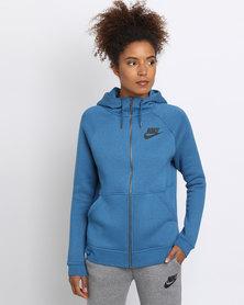 Nike Women's Sportswear Rally Hoodie Blue