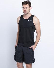 Nike Performance Racer Singlet Black