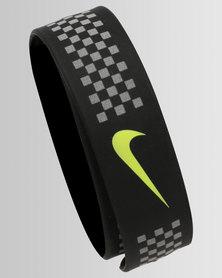 Nike Performance Running Slapband Blk/Volt