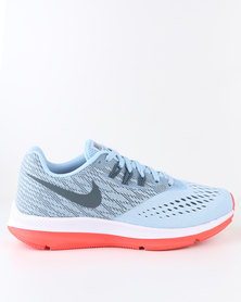 Nike Performance Women's Zoom Winflo 4 Running Shoes Ice Blue