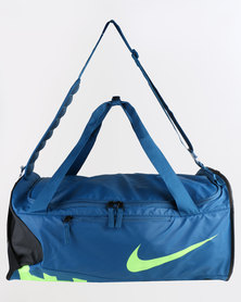 Nike Men's Alpha Medium Training Duffel Bag Blue