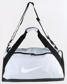 Nike Brasilia Medium Training Duffel Bag Grey