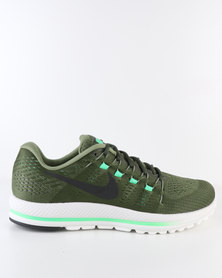 Nike Performance Men's Air Zoom Vomero 12 Running Shoe Green