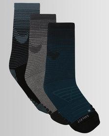 Nike Performance Unisex Nike Dry Cushion Graphic Crew Training Socks Multi