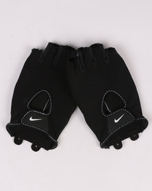 Nike Performance Womens Fundamental Fitness Gloves Black/White