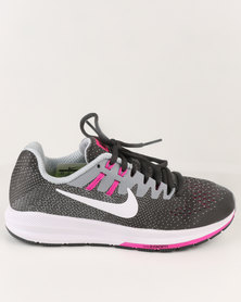 Nike Performance Womens Air Zoom Structure 20 Sneaker Black