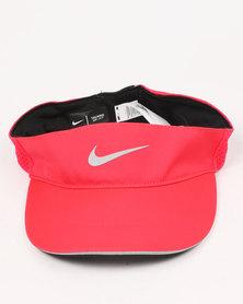 Nike Performance U Nike AeroBill Visor TW Elite Red