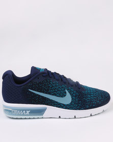 Nike Performance Air Max Sequent 2 Blue