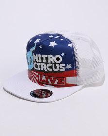 Nitro Circus Trucker White