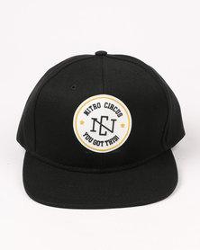 Nitro Circus Seal Cap Black