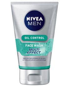 Nivea For Men Multi Effect Oil Control Face Wash 100ml
