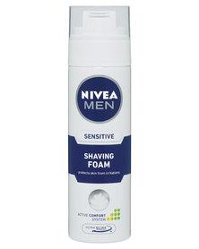 Nivea For Men Sensitive Shaving Foam 200ml