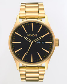 Nixon Sentry SS Watch All Gold and Black