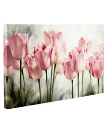 Pink Tulips 2 Canvas