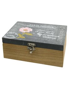 Carte Postal 3 Wooden Box