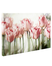 Pink Tulips 1 Canvas Print