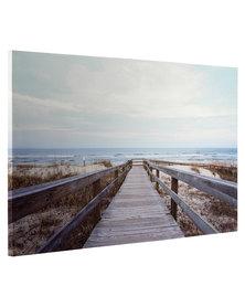 Beach Walkway Canvas