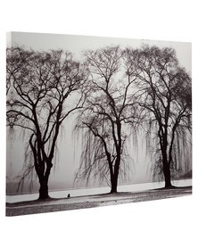 Black and White Trees Canvas