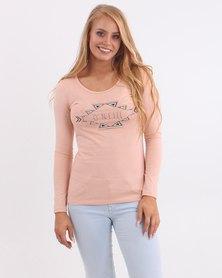 O'Neill Serenity Long Sleeve T-Shirt Pink