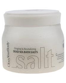 ObeyYourBody Dead Sea Salt 350g