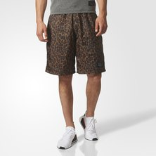 Allover-Print Utility Shorts