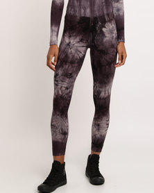 Paige Smith Printed Leggings Grey