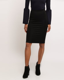 Paige Smith Lined Skirt Black