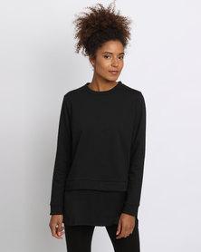 Paige Smith Cupro Sweater Black