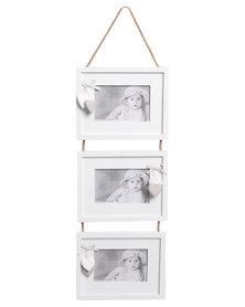 Pamper Hamper Hanging Frame 3 Piece White