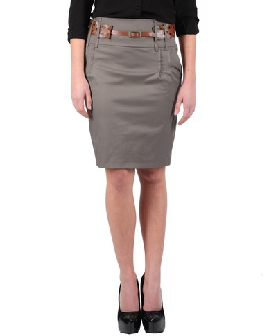 Passage Pencil Skirt Taupe