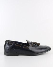 Paul of London Formal Slip On Shoe With Tassels Navy