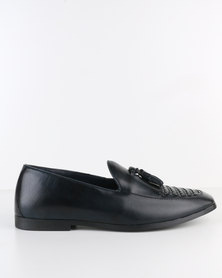 Paul Of London Formal Slip On With Tassel Navy