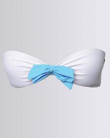 Peg Bikini Tie Short Aqua