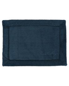 Pierre Cardin Memory Foam Bathmat Dark Blue