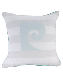 Pierre Cardin Union Stripe Scatter Cushion Grey