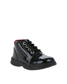 Pierre Cardin Boys Lace Up Boot Black