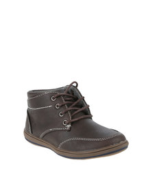 Pierre Cardin Boys Formal Hi-Tops Brown
