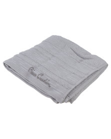 Pierre Cardin Lifestyle Hand Towel Grey