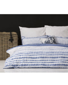 Pierre Cardin Freya Duvet Cover Set Blue