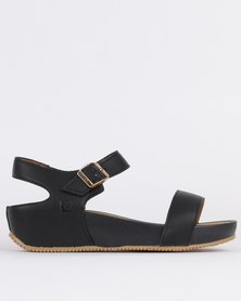 Pierre Cardin Ladies Sandals Comfort Black